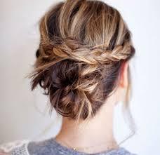 coiffure pour mariage cheveux mi coiffure mariage 100 idées pour cheveux courts et longs