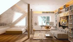 attic ideas white wooden wardrobe dark brown wooden floor smooth