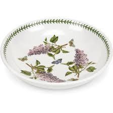 portmeirion botanic garden low bowl 33cm garden lilac louis potts