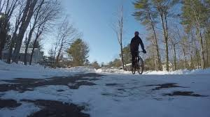 Map My Ride App Under Armour Map My Ride App Biking In Subzero Conditions Youtube