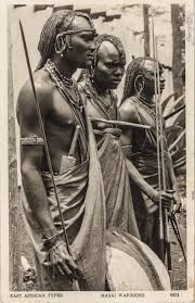 pp16b2 masai warriors dated 1959 by s skulina pegas studio