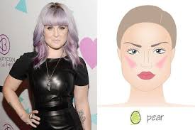pear shaped face hairstyles essential tips to apply blush for different face shapes