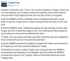 target starbucks black friday the hollywood target eyesore has its own hilarious facebook page
