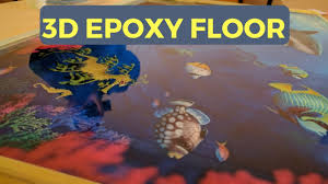 how to apply a 3d epoxy floor youtube