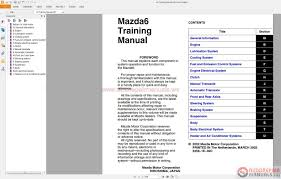 auto repair manuals mazda6 gg gy gg1 2002 2007 service manuals