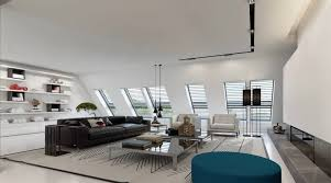 ultramodern dusseldorf penthouse design by ando studio