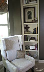 all things beautiful styling bookshelves from cluttered to styled