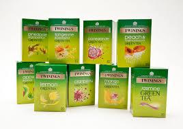 twinings green teas packaging tobie giddio