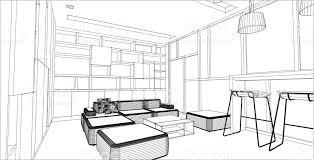 home interior vector sketch design of library interior vector stock vector more