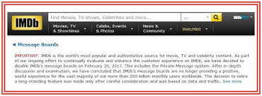 what happened to imdb message boards bring back imdb message boards home facebook