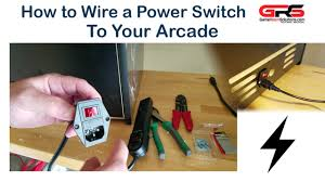 how to wire a power switch to your arcade