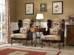 French Wingback Chair Sitting Room Furniture Wing Back High Back Moving Price French
