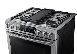 samsung nx58h9500ws 30 inch slide in gas range with sealed burner