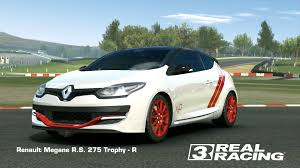 renault sport rs 01 top speed renault megane r s 275 trophy r real racing 3 wiki fandom
