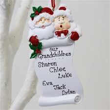 personalised ornaments for grandparents personalised