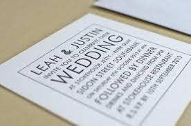 black u0026 white wedding invitation elegante press professional