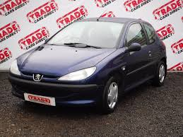 peugeot hatchback cars used peugeot 206 look blue 1 1 hatchback pontypridd mid