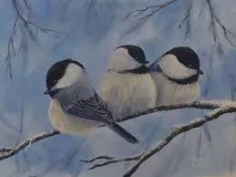 watercolor tutorial chickadee winter chickadees part 2 painting the chickadee details youtube