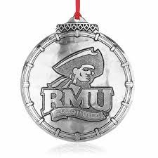 robert morris university christmas ornament wendell august