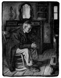 Old Man In Rocking Chair The Project Gutenberg Ebook Of Riley Songs Of Home By James