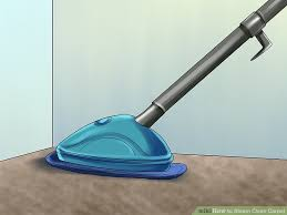 how to vacuum carpet how to steam clean carpet 12 steps with pictures wikihow