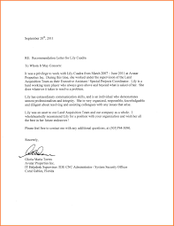 Employment Letter Of Recommendation Template by Recommendation Letter For An Employee Graduate Resume