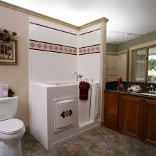 Senior Bathroom Remodel Best Bath Systems Walk In Shower And Tub Image Gallery Garden