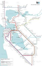 Sonoma State Map by Regional Rapid Transit For The Bay Area