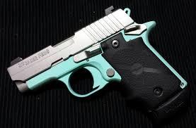 firearms friday tiffany blue sig sauer p238 imgur