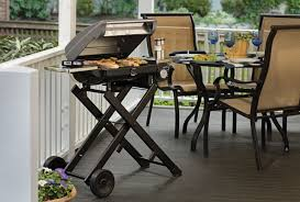Backyard Grill Reviews by Amazon Com Cuisinart Cgg 240 All Foods Roll Away Gas Grill Patio