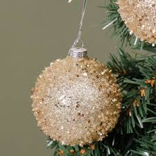 shabby chic christmas tree decorations