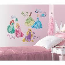 Kids Bedroom Wall Decals Kids Bedroom Disney Princess Royal Debut Peel And Stick Wall