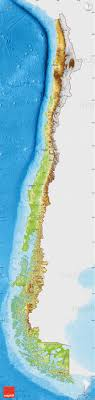 chile physical map physical map of chile single color outside