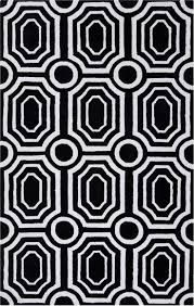 Black And White Modern Rugs Rugs Curtains Modern Geometric Black And White Area Rugs For