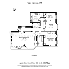 kensington palace floor plan 3 bed flat for sale in palace mansions earsby street kensington