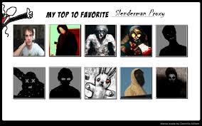Proxy Meme - my top 10 favorite slenderman proxy by thelichyking on deviantart
