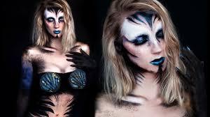 dark mermaid halloween makeup tutorial youtube