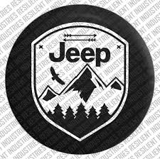 sahara jeep logo amazon com jeep spare tire cover eagle adventure badge jeep