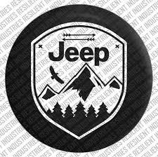 sahara jeep logo amazon com jeep spare tire cover eagle adventure badge jeep