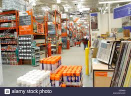 interior home improvement interior of home depot home improvement store stock photo