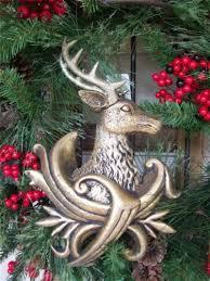 Deer Christmas Tree Decorations by Raz 11