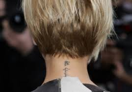 short hair cuts seen from the back short hairstyles back view stackedshort hairstyle medium hair