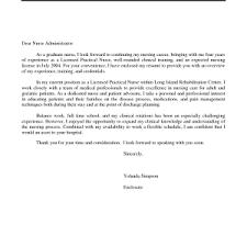 cover letter sample cover letter for nursing resume sample cover