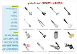 kitchen tools and equipment kitchen utensils small equipment identification unique kitchen