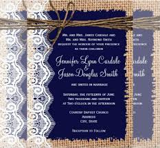 Burlap And Lace Wedding Invitations 21 Country Wedding Invitation Templates Free Sample Example
