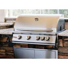 32 Inch Gas Cooktop Summerset Sizzler 32 Inch 4 Burner Built In Natural Gas Grill With
