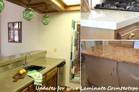 Kitchen Countertops Without Backsplash Diy Updates For Your Laminate Countertops Without Replacing Them