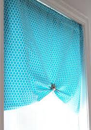 Easy No Sew Curtains One Yard No Sew Window Treatment 3 Ways