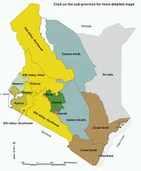 geographical map of kenya poverty research small area poverty map of kenya