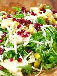 pear pomegranate u0026 pecorino salad the optimalist kitchen